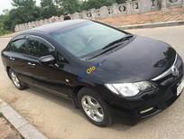 Cần bán gấp Honda Civic AT 2008, màu đen số tự động