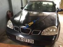 Cần bán lại xe Daewoo Lacetti đời 2009, màu đen