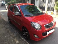 Cần bán lại xe Kia Morning 2011, màu đỏ xe còn khá mới nguyên zin