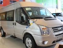 Bán Ford Transit Standard MID sản xuất 2017, màu bạc
