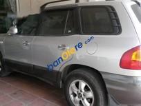 Bán Hyundai Santa Fe AT đời 2004, màu bạc còn mới