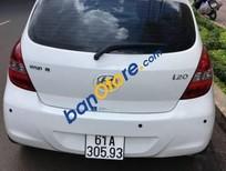 Cần bán lại xe Hyundai i20 AT sản xuất 2010, màu trắng, giá chỉ 340 triệu