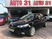 Cần bán gấp Kia Forte SLi 1.6 AT sản xuất 2009, màu đen, xe nhập, giá chỉ 415 triệu