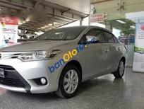 Bán Toyota Vios 1.5E đời 2014, màu bạc