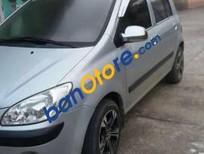 Cần bán gấp Hyundai Getz MT đời 2009, màu bạc, giá tốt
