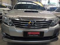 Cần bán xe Toyota Fortuner G, máy dầu, số sàn, đời 2015, màu bạc
