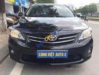 Bán xe Toyota Corolla altis 1.8G đời 2011, màu đen