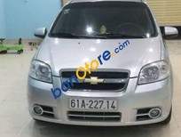 Cần bán xe Chevrolet Aveo MT đời 2012, màu bạc, giá chỉ 255 triệu