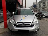 Cần bán gấp xe Honda Crv 2.4AT 2011, màu bạc long lanh