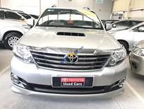 Bán xe Toyota Fortuner G đời 2015, màu bạc, số tay, máy dầu, hỗ trợ giá tốt