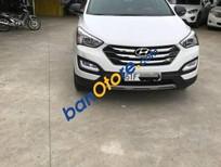 Cần bán gấp Hyundai Santa Fe AT 2016, màu trắng