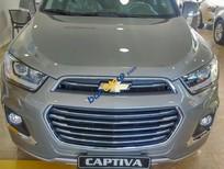 Bán Chevrolet Captiva Revv LTZ 2.4 AT 2017, màu nâu, 879tr