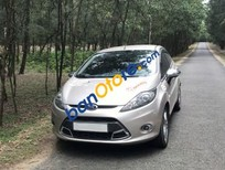 Bán xe Ford Fiesta 1.6AT sản xuất 2012, màu bạc xe gia đình, 399tr