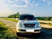 Cần bán lại xe Lexus GX 470 đời 2008, màu vàng cát