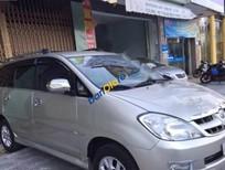 Cần bán lại xe Toyota Innova G đời 2006, màu bạc số sàn, 330tr