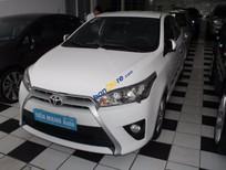 Cần bán lại xe Toyota Yaris 1.3G 2015, màu trắng, nhập khẩu Thái Lan chính chủ, 585 triệu