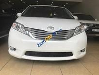 Cần bán lại xe Toyota Sienna Limited 3.5 AT AWD đời 2014, màu trắng, nhập khẩu như mới