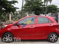 Cần bán lại xe Kia Morning đời 2015, màu đỏ số sàn, giá 320tr