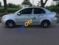 Cần bán lại xe Daewoo Gentra đời 2009, màu bạc xe gia đình