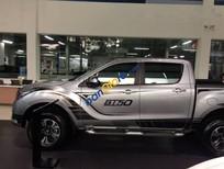 Bán Mazda BT 50 2.2AT đời 2017, màu bạc, nhập khẩu, giá chỉ 650 triệu