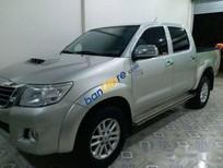 Bán Toyota Hilux 3.0 G sản xuất 2013, màu bạc, xe nhập