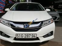 Cần bán gấp Honda City 1.5AT năm sản xuất 2017, màu trắng số tự động