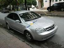 Bán xe Daewoo Lacetti năm sản xuất 2010, màu bạc