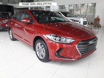 Cần bán Hyundai Elantra đời 2018, màu đỏ, giá rẻ nhất Đà Nẵng, trả góp, Ngọc Sơn: 0911.377.773
