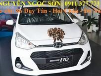 Bán Hyundai i10 mới 2017, màu trắng, hỗ trợ mua trả góp, giao xe ngay, LH Ngọc Sơn: 0911.377.773