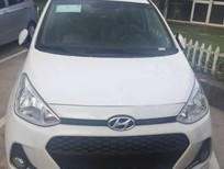 Bán xe Hyundai i10 mới 2017, màu trắng, trả góp 90% xe Lhệ: Ngọc Sơn: 0911.377.773