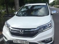Bán Honda CR V 2.0AT 2016, màu trắng, xe gia đình
