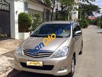 Cần bán gấp Toyota Innova 2.0G đời 2010, màu vàng xe gia đình giá cạnh tranh