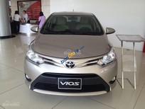 Bán ô tô Toyota Vios 1.5E MT năm sản xuất 2017, màu vàng cát