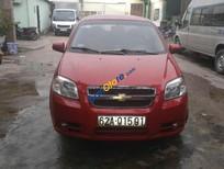 Bán ô tô Chevrolet Aveo đời 2013, màu đỏ số sàn, giá tốt
