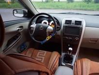 Cần bán lại xe Toyota Corolla Altis 1.8G MT đời 2013, màu bạc số sàn, giá 555tr