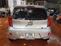 Cần bán Kia Morning 1.0 AT đời 2011, màu bạc, xe nhập số tự động