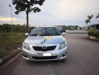 Cần bán gấp Toyota Corolla Altis 2.0V năm sản xuất 2009, màu bạc