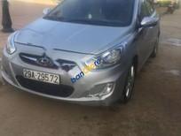 Bán xe Hyundai Accent 1.4MT đời 2011, màu bạc, xe nhập số sàn