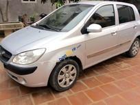 Cần bán lại xe Hyundai Getz 1.1 MT đời 2010, màu bạc, xe nhập