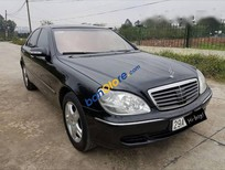 Bán ô tô Mercedes S500 2003, màu đen, nhập khẩu nguyên chiếc số tự động