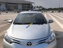 Bán xe Toyota Vios 1.5E đời 2015, màu bạc chính chủ