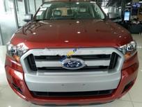 Cần bán Ford Ranger XLS 2.2L 4x2 MT đời 2017, màu đỏ