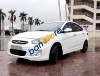 Cần bán Hyundai Accent AT đời 2011, màu trắng