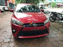 Cần bán Toyota Yaris 1.3E năm 2015, màu đỏ, nhập khẩu