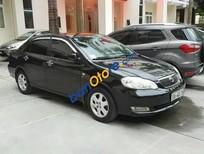 Bán ô tô Toyota Corolla Altis MT 2008, màu đen chính chủ