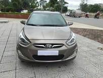Bán xe Hyundai Accent đời 2014, màu nâu, nhập khẩu, số tự động
