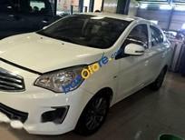Cần bán xe Mitsubishi Attrage AT sản xuất 2015, màu trắng giá cạnh tranh