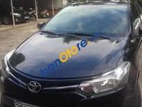 Cần bán gấp Toyota Vios MT năm 2015, màu đen xe gia đình