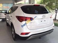 Cần bán Hyundai Santa Fe năm 2016, màu trắng