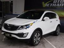 Cần bán Kia Sportage 2.0 AT 2013, màu trắng, nhập khẩu
